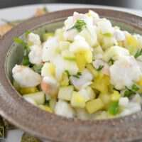 Pineapple Apple Ceviche - Table & Hearth