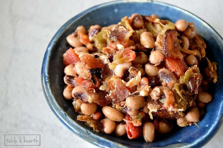 A southern favorite! This quick and easy Hoppin' John just takes a few minutes to prepare and is the perfect side dish!