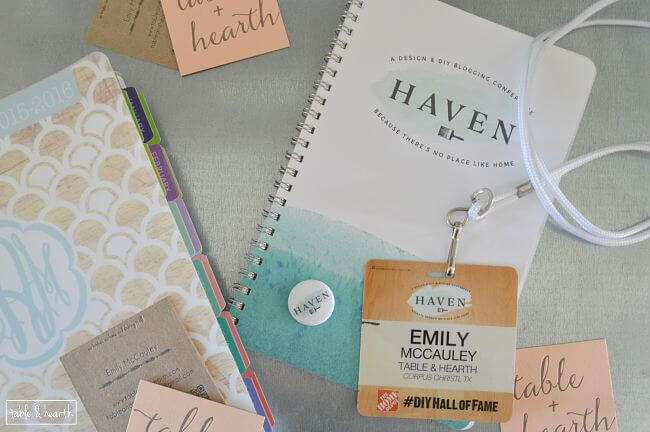 All about attending my very first Haven Conference for home and DIY bloggers!