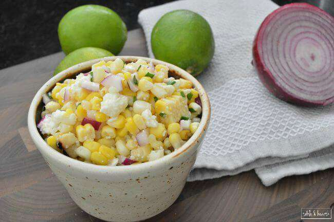 This Mexican Corn Salad from Your Home Based Mom is a quick and unique alternative to a regular 'ol salad or side dish!