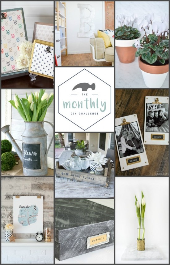 NINE awesome DIY projects using metallic paint!
