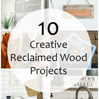 10 creative reclaimed wood projects!