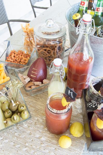 Super easy Zesty Key Lime Michelada recipe! Create a michelada bar filled with unique, spicy snacks for the big game party or tailgate! @worldmarket #ad #worldmarkettribe