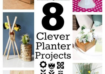 Eight creative planter projects!