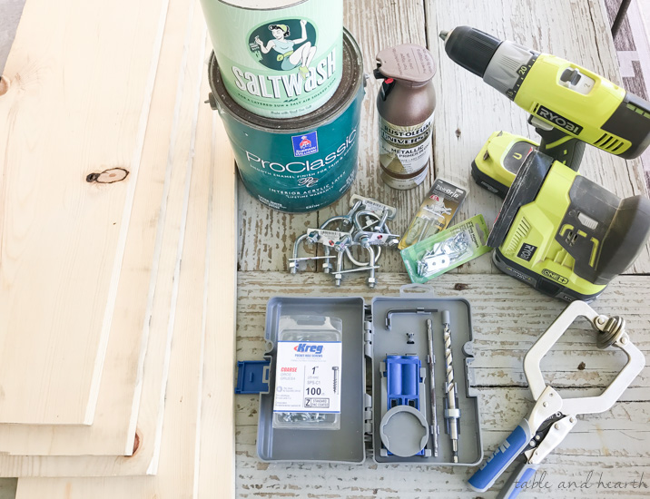 How to make a large wall display board using a Kreg pocket hole kit! #kregjig #pockethole #walldecor